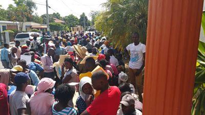 Suspenden carrera 5K convocada de migrantes haitianos