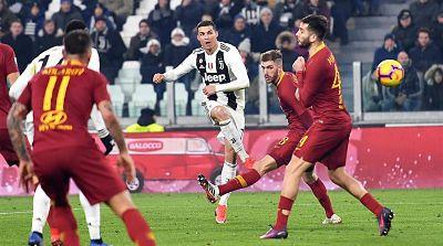 Juventus mantiene su ventaja tras superar a la Roma