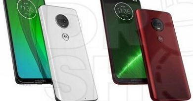 Develados los nuevos Motorola Moto G7, G7 Power, G7 Play y G7 Plus