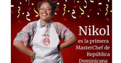 Nikol Morillo es la primera MasterChef República Dominicana