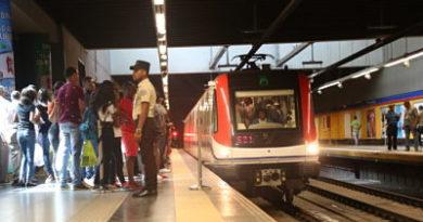 OPRET informa horario especial que tendrá el Metro de Santo Domingo hoy y mañana