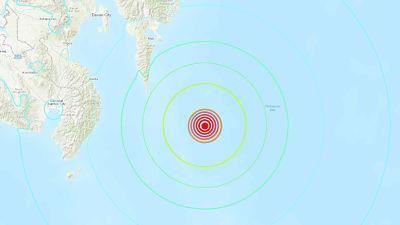 Un sismo de magnitud 7,2 activa la alerta de tsunami en Indonesia y Filipinas