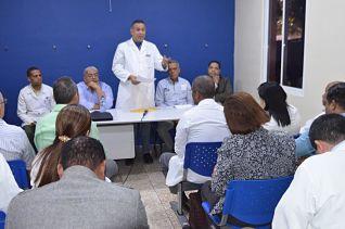 Director del SNS se reúne con CMD-Mao y acuerdan mejorar calidad de la atención