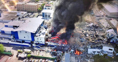 Explosión deja cuatro muertos en Villas Agrícolas