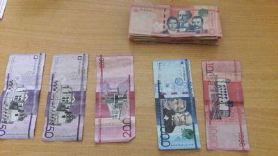 Policía apresa joven con dinero falso en la provincia Duarte