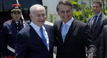 Netanyahu asegura que Bolsonaro le anunció el traslado de embajada a Jerusalén