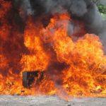 Procuraduría incinera más de 1,300 kilogramos de drogas
