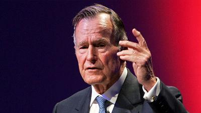 Revelan las últimas palabras de George H.W. Bush antes de morir