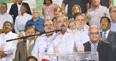 Salcedo vibró con apertura de los Juegos Nacionales