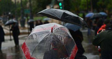 Sistema frontal provocará lluvias dispersas en varias localidades