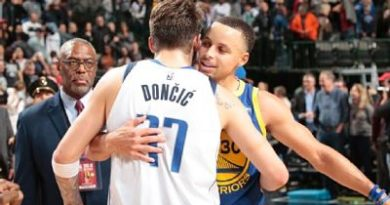Kerr, Curry, Green y KD ven en Luka Doncic un All-Star