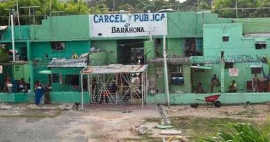 Tres heridos en riña en cárcel pública de Barahona