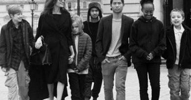 Angelina Jolie dice que sus hijos tienen una buena racha rebelde