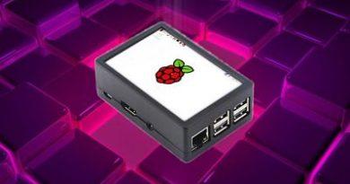 Si tienes una Raspberry Pi, esta carcasa con pantalla táctil puede ser muy útil