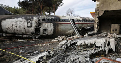 ALERTA se estrella aviónBoeing 707 de cargacerca de Teherán