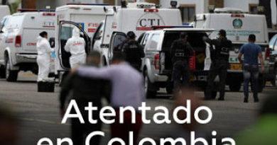 FATAL ATENTADO: Coche bomba explota en escuela policial en Bogotá