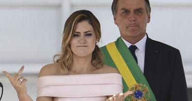 La nueva primera dama de Brasil rompe los protocolos y se dirige al pueblo en lengua de señas