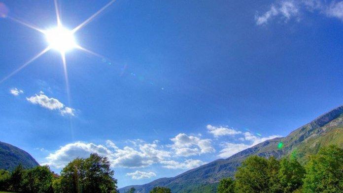 El clima estará mayormente soleado con incrementos nubosos al final la tarde