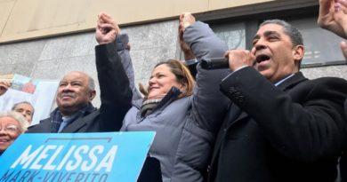 Espaillat y club demócrata respaldan candidatura de Viverito a Defensora del Pueblo