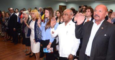El MIP juramenta a 41 extranjeros como ciudadanos dominicanos