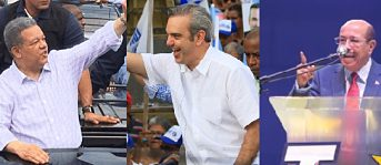 Aspirantes presidenciales encabezan actividades en diversos puntos del país