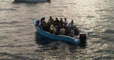 Frustran viaje ilegal y apresan a 10 personas en Miches
