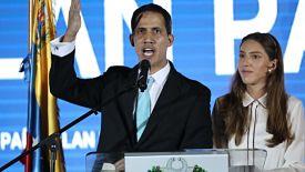 """Guaidó está dispuesto a """"hacer lo necesario"""" para que ayuda entre a Venezuela"""