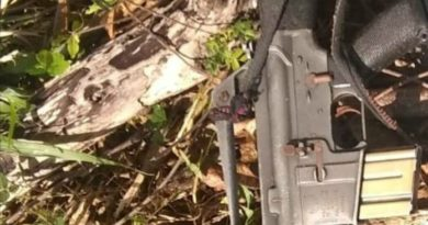Encuentran el fusil M16 desaparecido hace meses de fortaleza en Nagua