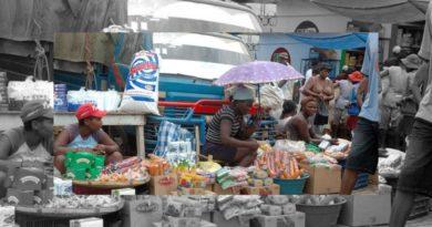 Mercado binacional estuvo bastante activo ayer en la provincia Dajabón.