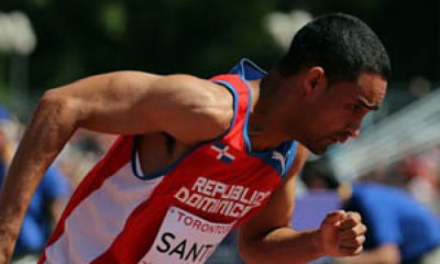 Luguelin Santos llegó segundo en Lievin