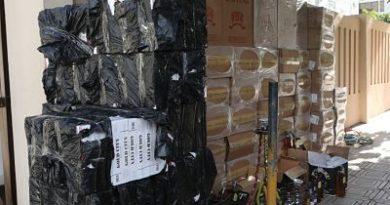 Ministerio Público, Policía y Aduanas confiscan 700 mil unidades de cigarrillos de contrabando
