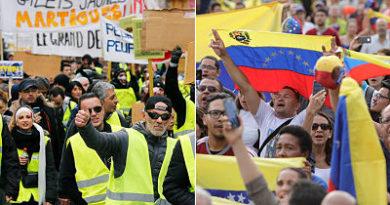 """""""Repitan conmigo: ¡Maduro es malo, Macron es bueno!"""""""