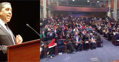 """Cientos participan en primer evento """"Dominicanos en el Capitolio"""" encabezado por Espaillat en DC"""