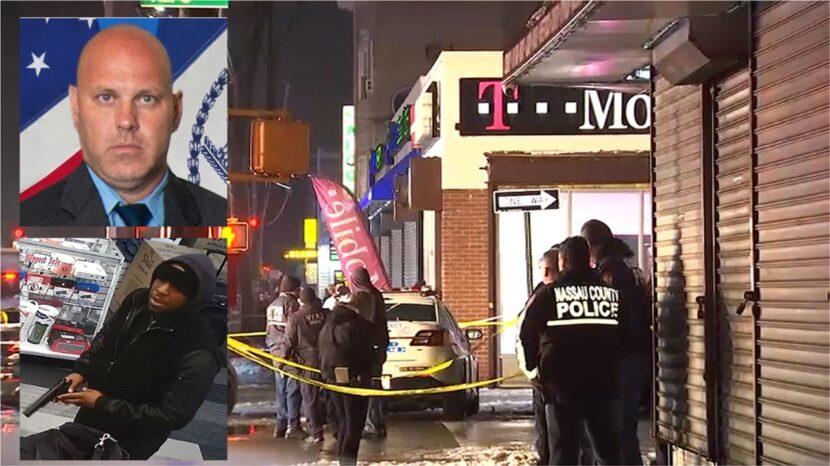 Detective del NYPD fue asesinado y un sargento herido por compañeros durante atraco en una tienda T – Mobile en Brooklyn