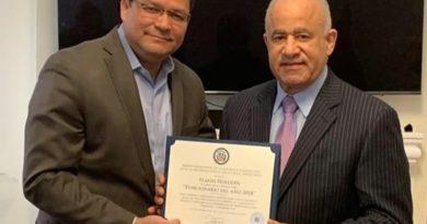 Ministro Flavio Holguín escogido Funcionario del Año 2018 de la misión dominicana en la OEA