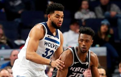 Towns vuelve, y lleva a Timberwolves a triunfo sobre Kings