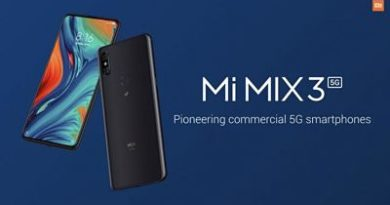 El Xiaomi Mi Mix 3 5G es oficial, y estas son sus características y precio