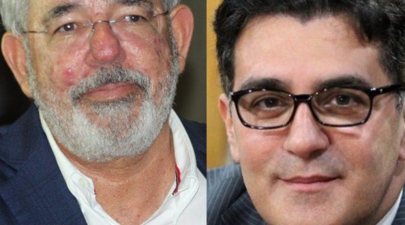Julio Cury y Víctor Díaz Rúa se entran a trompadas en boda de Manuel Peynado