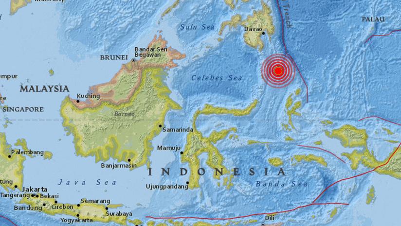 ALERTA: Un sismo de magnitud 5,5 se registra en Indonesia