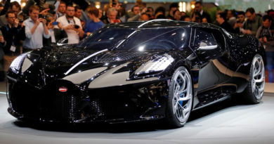 """Bugatti presenta La Voiture Noire, """"el coche nuevo más caro de la historia"""""""