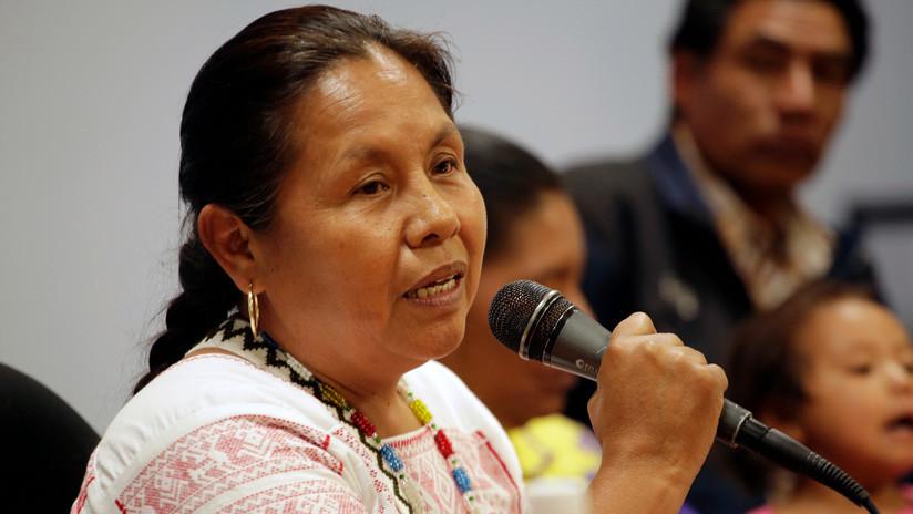 """Líder indígena pide a López Obrador que en vez de exigir perdón a España """"deje de despojar"""" a los pueblos originarios"""