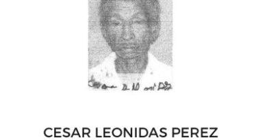 ALERTA : Reportan como desaparecido a un hombre de 58 años