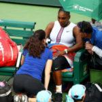 CUIDADO El cuerpo de Serena Williams empieza a emitir señales de alarma