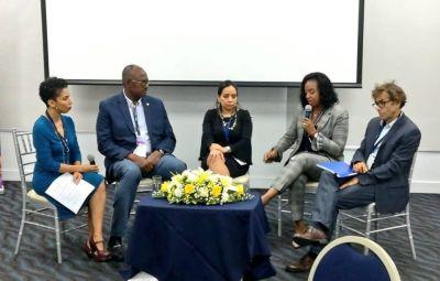 EN HORA BUENA; Alcalde de Santo Domingo Este, Alfredo Martínez participa en Panamá en Diálogo sobre el rol de los gobiernos locales organizado por la ONU