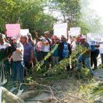 En San Juan moradores de Mogollón demandan Piden terminación de liceo, agua potable y energía eléctrica 24 horas, entre otras reivindicaciones