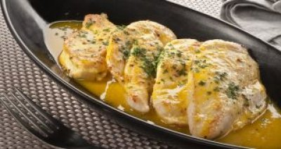 Filetes de pollo a la naranja