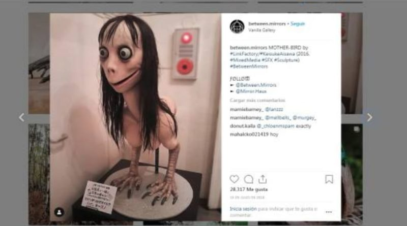 "YouTube niega el ""Momo Challenge"" en sus videos"