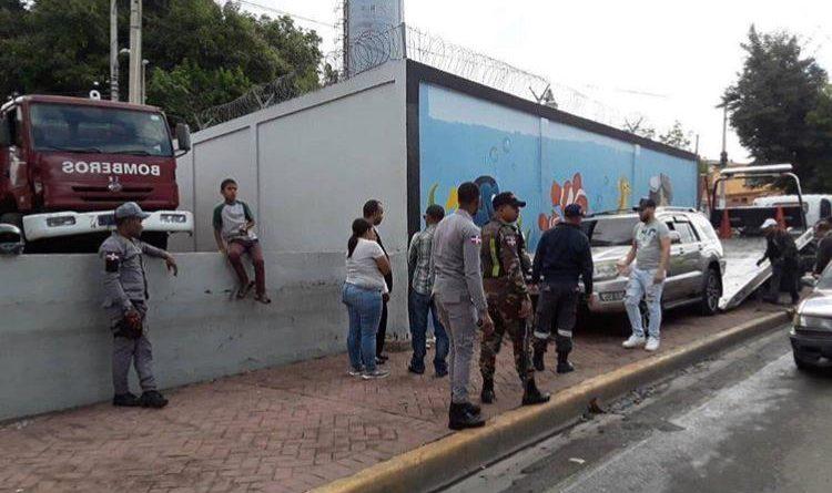 Dirigente popular atropella hombre en Santiago