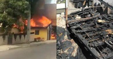 Incendios acontecidos por separados destruyen 4 viviendas en Puerto Plata, Maimón e Imbert