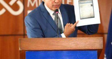 Inspector general del Ministerio Público responde acusaciones infundadas hechas por el periodista Dany Alcántara